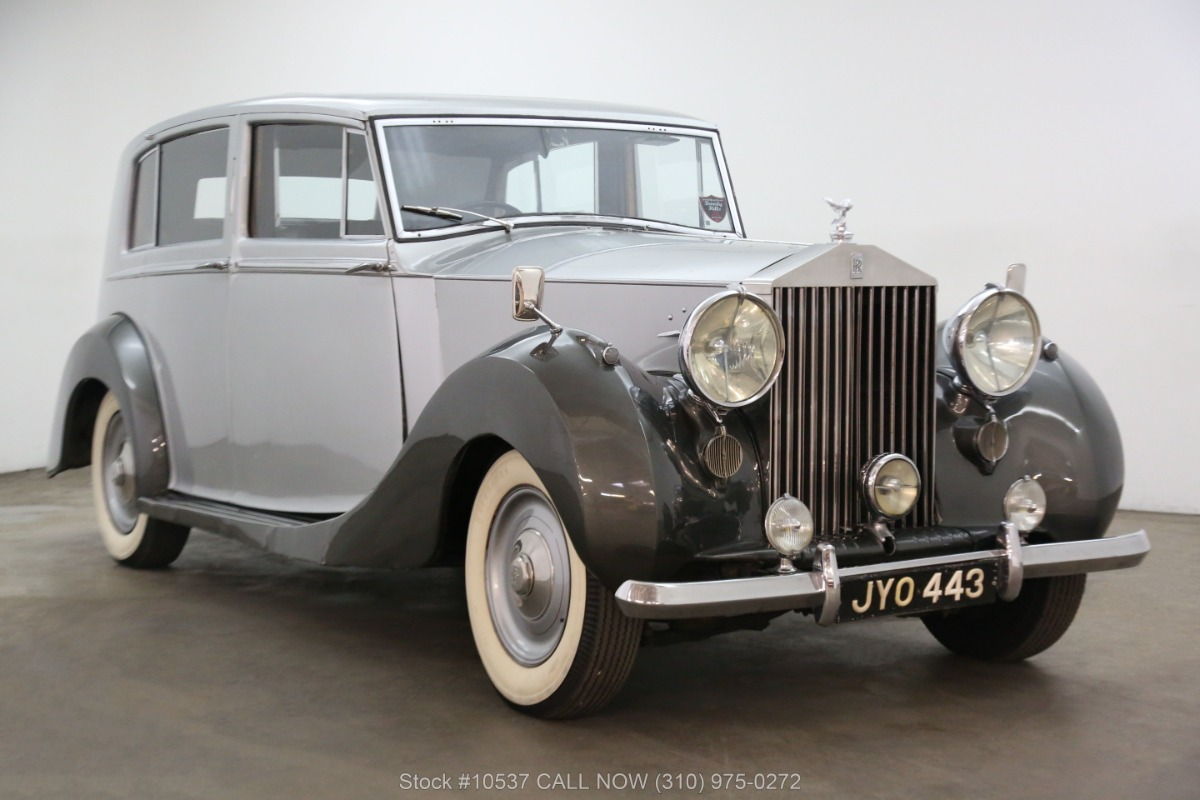 1947 Rolls Royce Silver Wraith Limousine Right Hand Drive
