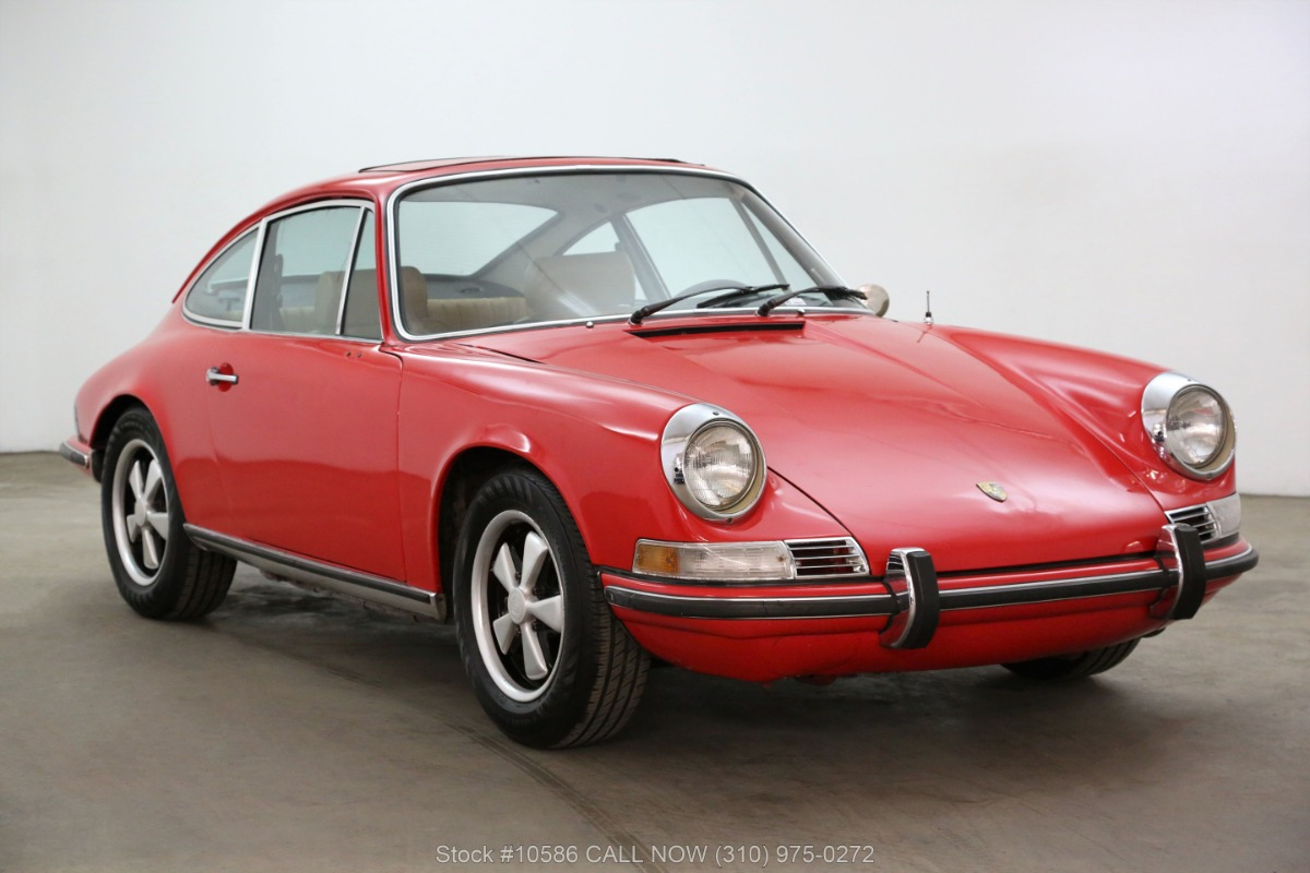 1970 Porsche 911E Sportomatic Sunroof Coupe