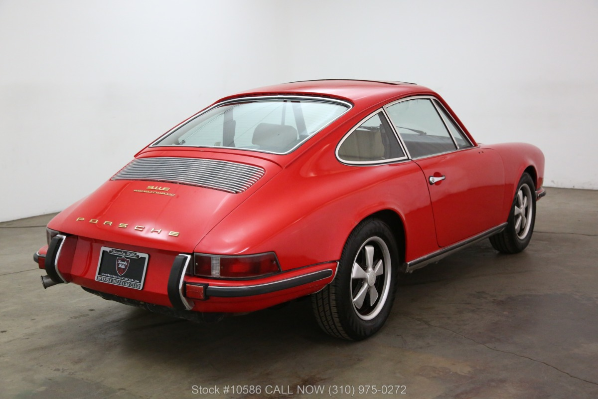 Used 1970 Porsche 911E Sportomatic Sunroof Coupe | Los Angeles, CA