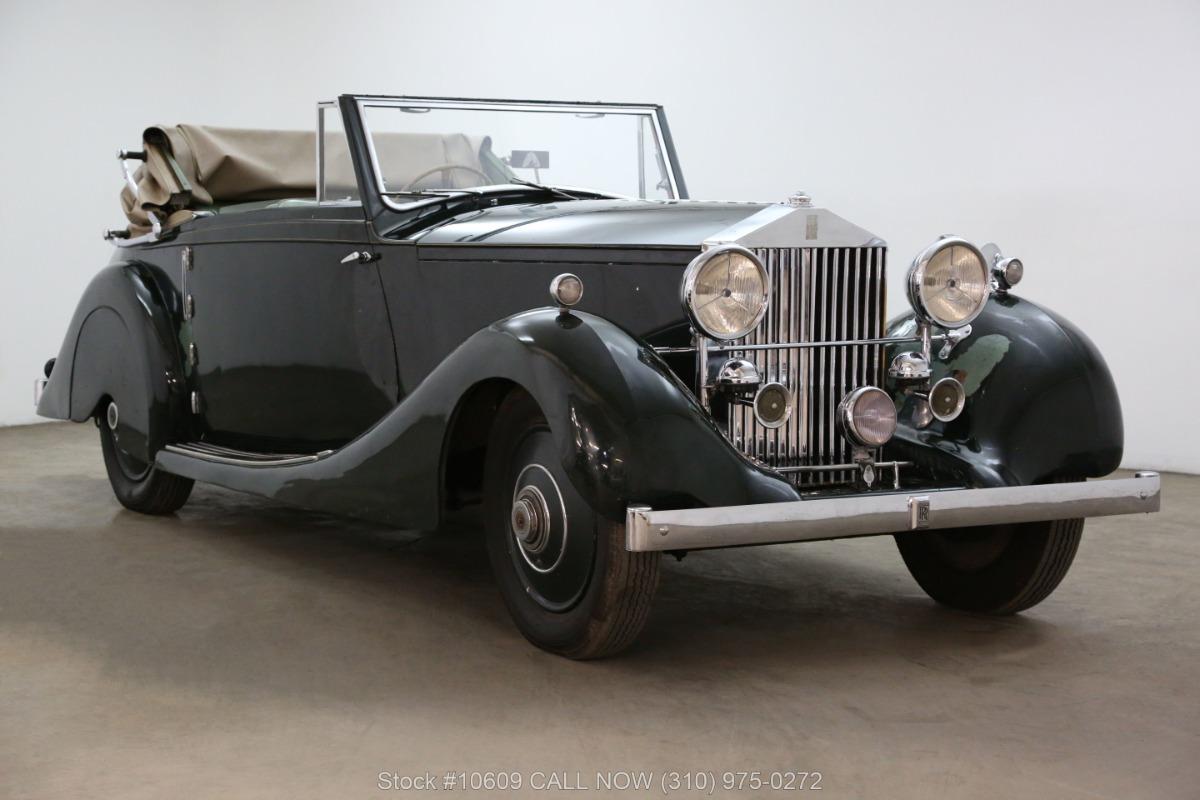 1928 Rolls Royce 20HP Drophead Coupe