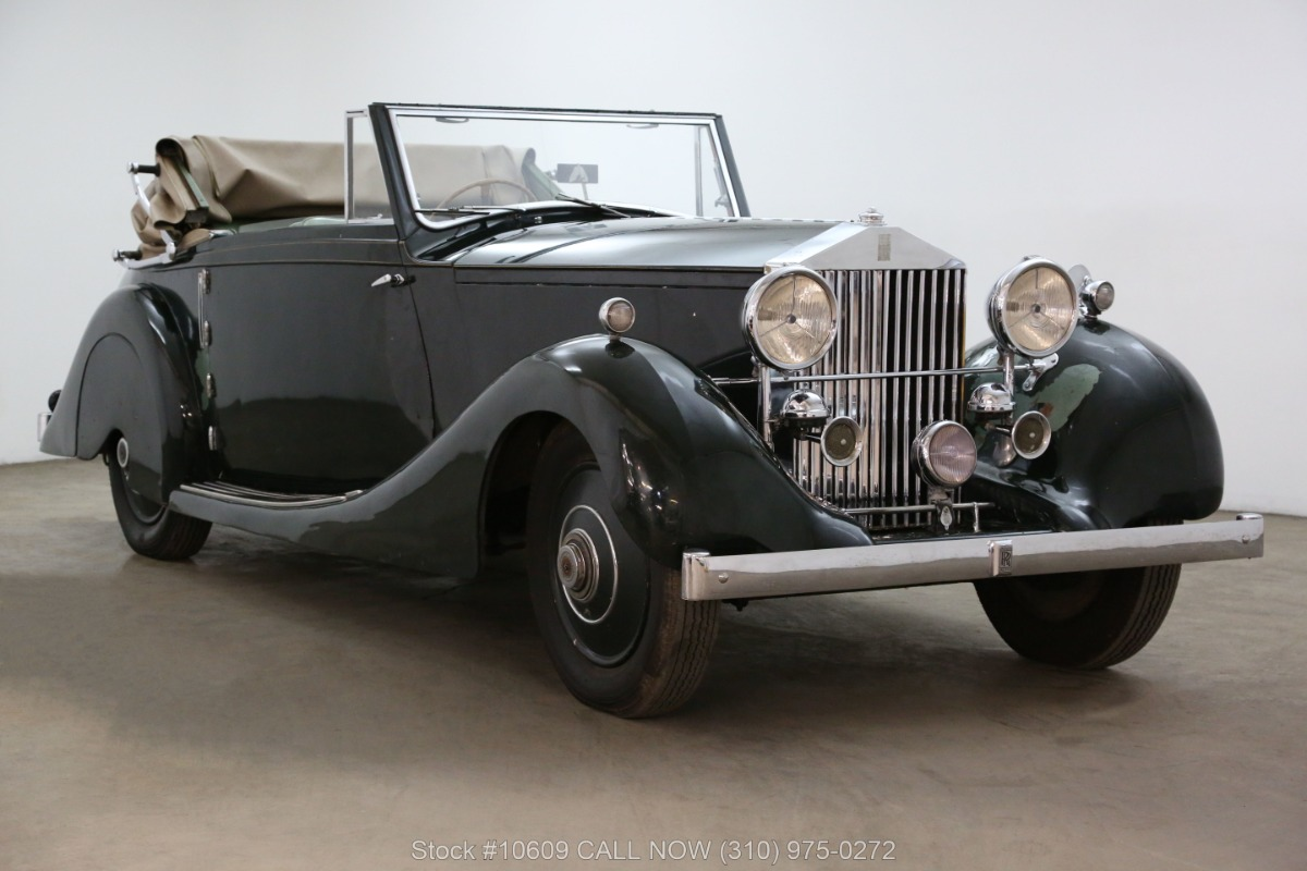 Used 1928 Rolls Royce 20HP Drophead Coupe | Los Angeles, CA
