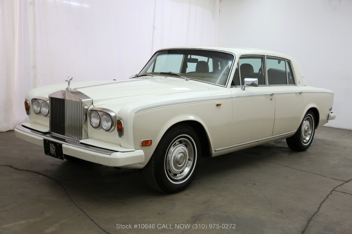 Used 1980 Rolls Royce Silver Shadow II Left-Hand Drive | Los Angeles, CA