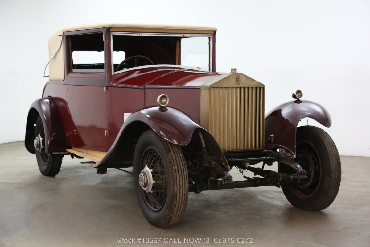 1929 Rolls Royce 20HP Doctors Coupe