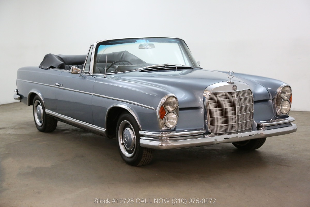 1966 Mercedes-Benz 300SE Cabriolet Right Hand Drive
