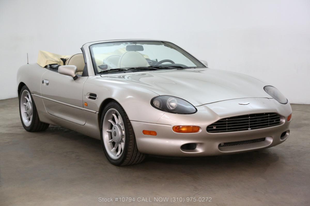 1997 Aston Martin Db7 Volante Convertible Beverly Hills Car Club
