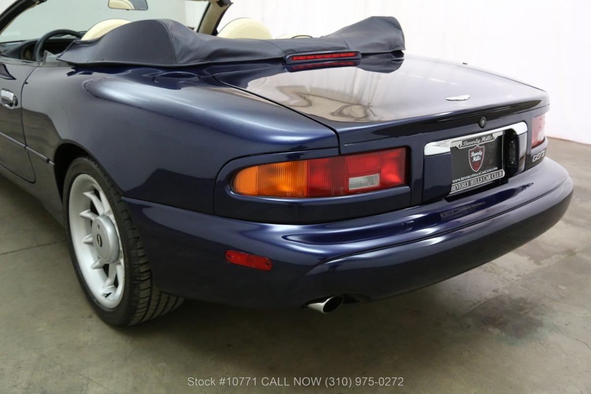 Used 1998 Aston Martin DB7 Volante Convertible | Los Angeles, CA