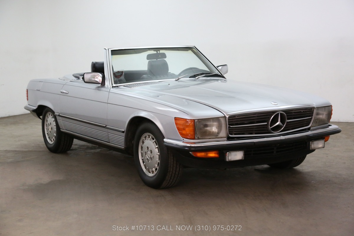 1985 Mercedes-Benz 280SL 5 Speed
