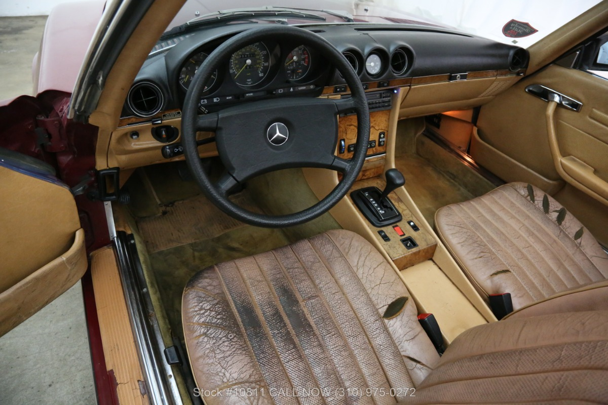 Used 1985 Mercedes-Benz 380SL with 2 Tops | Los Angeles, CA