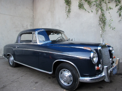 1957 mercedes benz 220s ponton coupe for 1957 mercedes benz 220s
