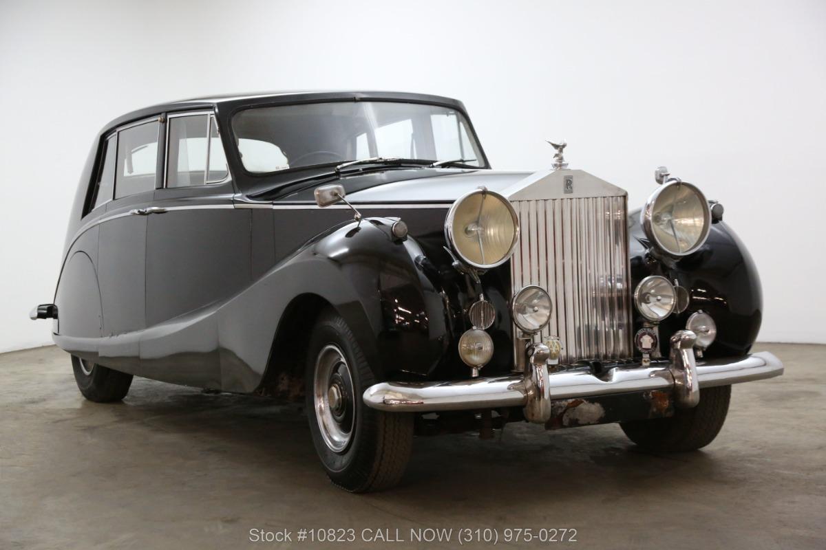 1954 Rolls Royce Silver Wraith Limousine by Hooper