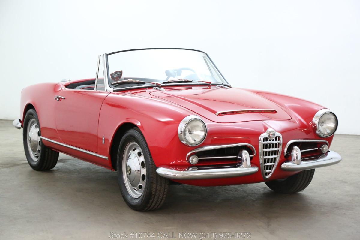 1965 Alfa Romeo Giulia Spider Veloce