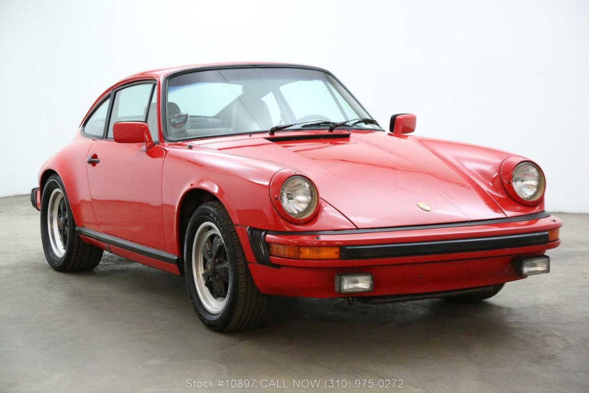 1983 Porsche 911SC Sunroof Coupe