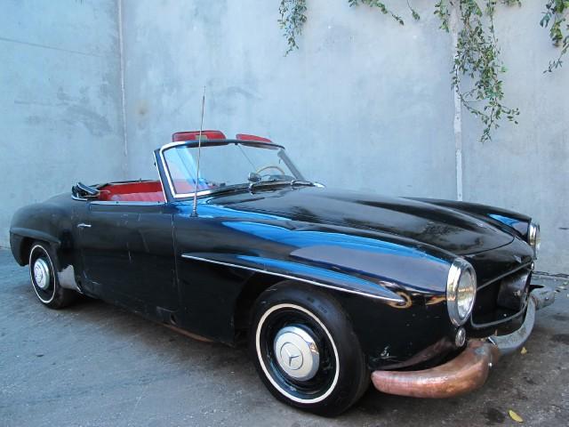 1961 mercedes convertible