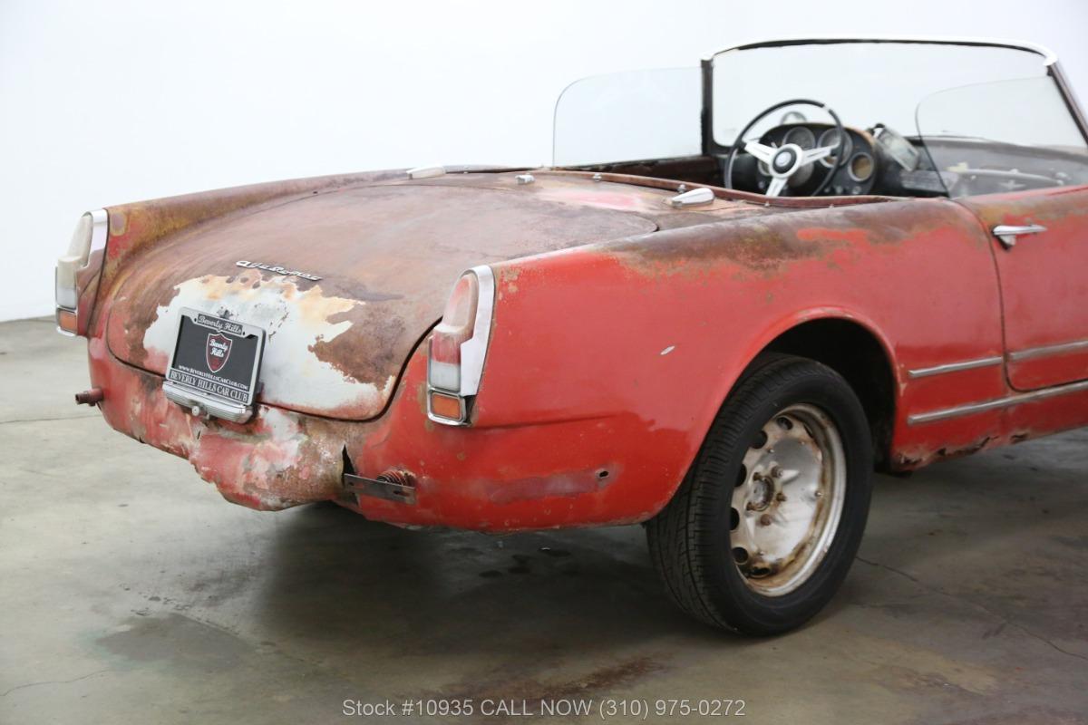Used 1960 Alfa Romeo 2000 Spider | Los Angeles, CA
