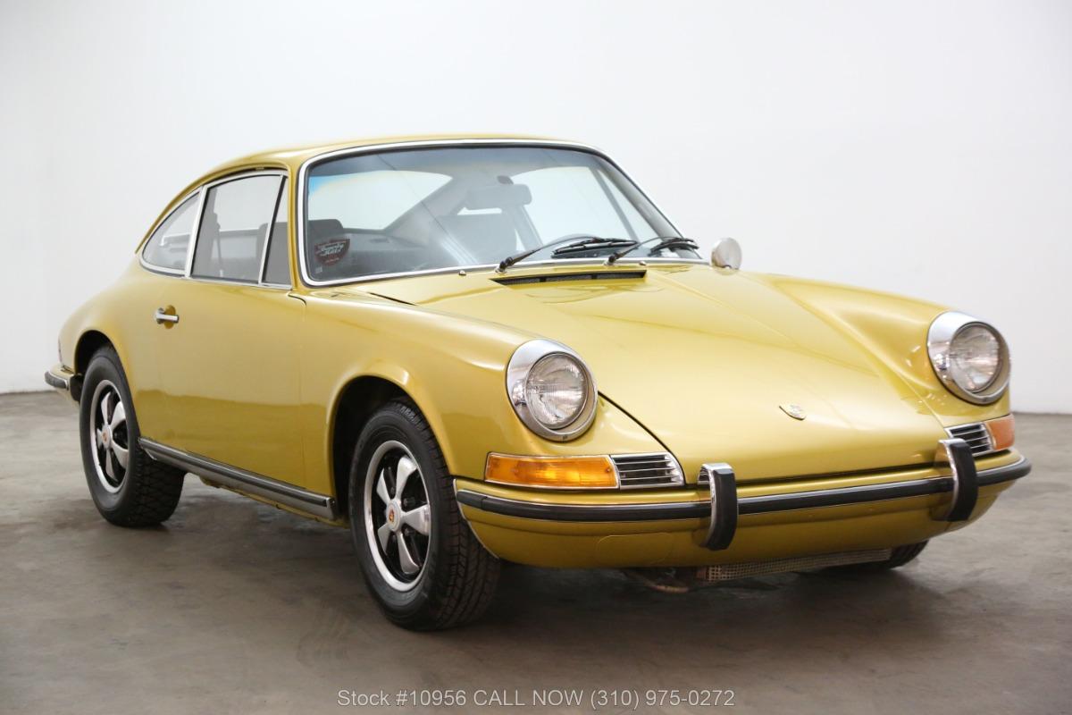 1971 Porsche 911E Coupe Sportomatic