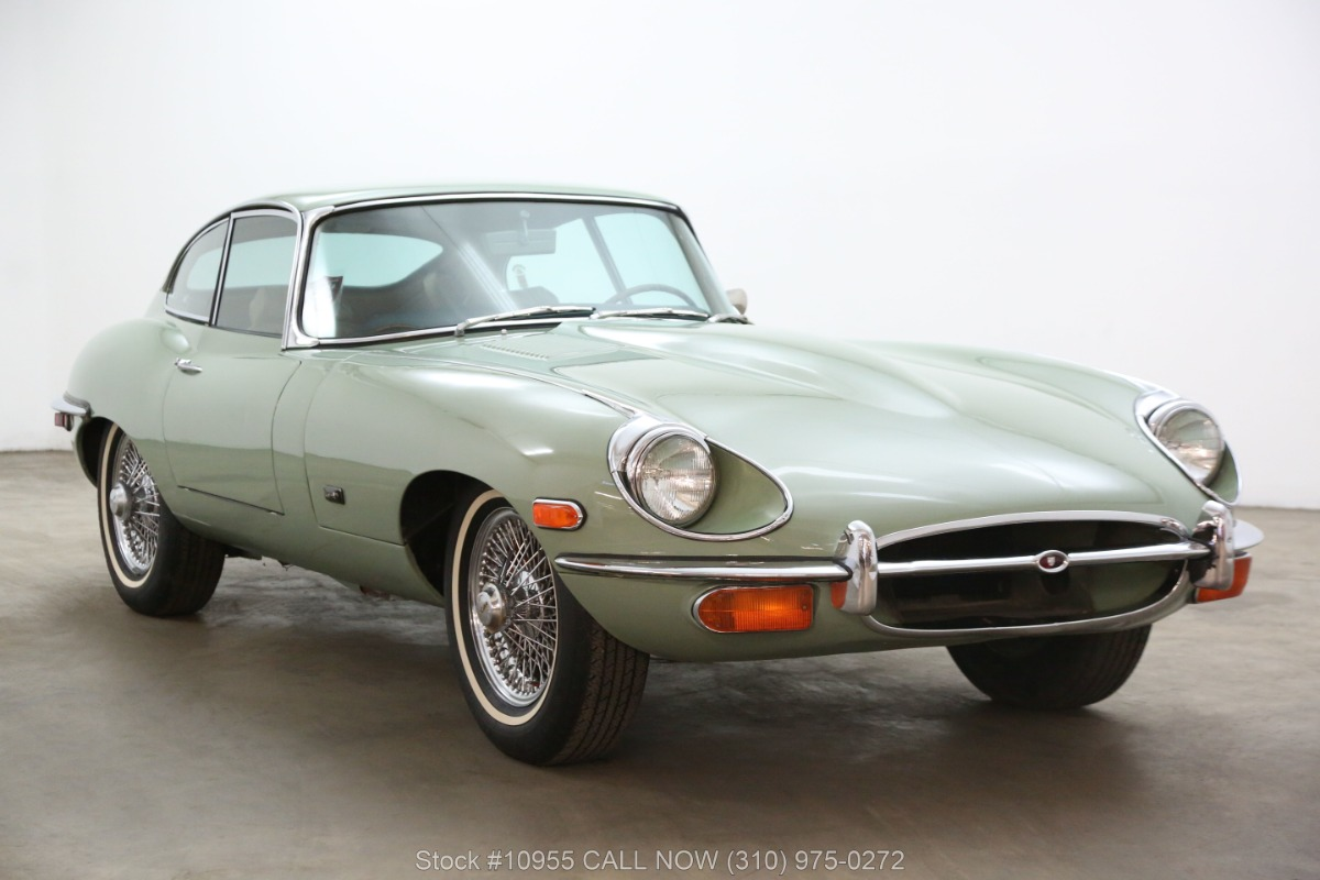 1971 Jaguar XKE Fixed Head Coupe