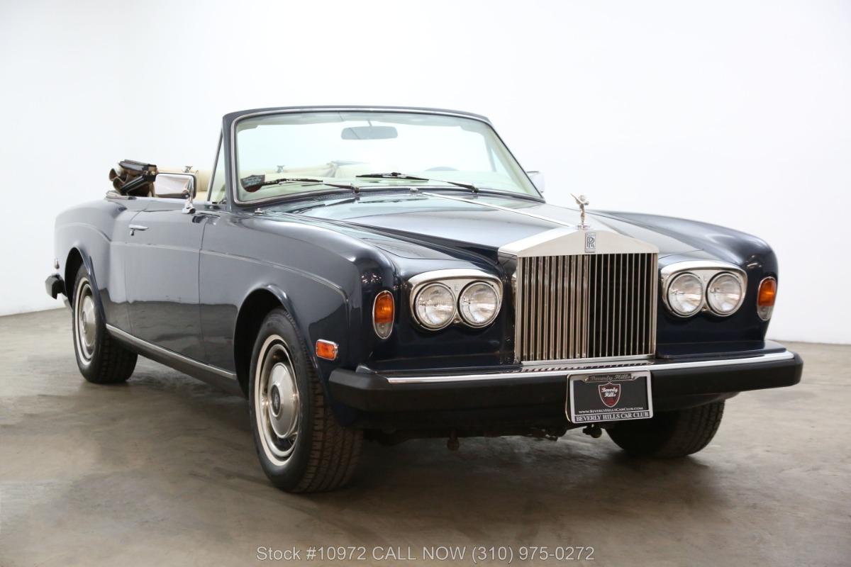 1984 Rolls Royce Corniche Convertible