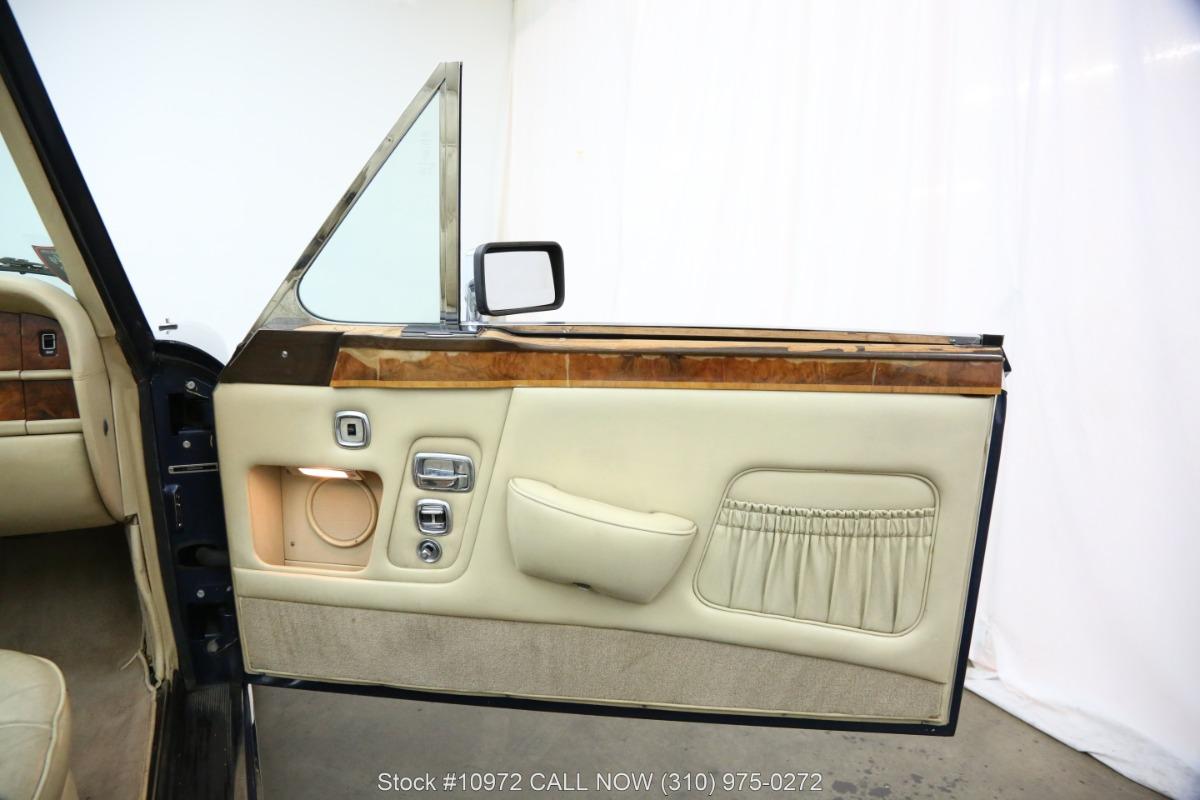 Used 1984 Rolls Royce Corniche Convertible   Los Angeles, CA