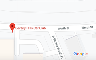 Beverly Hills Car Club Map