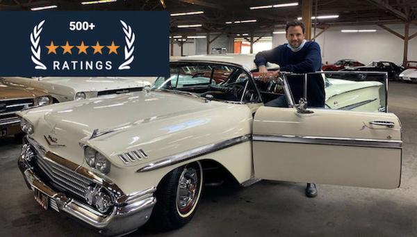 Alex Manos - classic car buyer