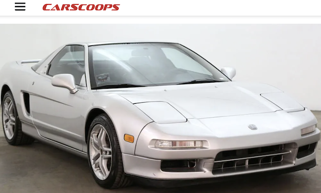 1993 Acura NSX on Carscoops.com
