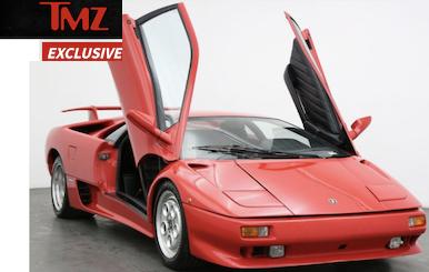 James Bond Lamborghini on TMZ.com