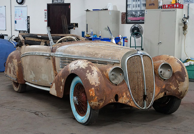 Car Tales: A pre-WW2 1939 Delahaye 135M Cabriolet!