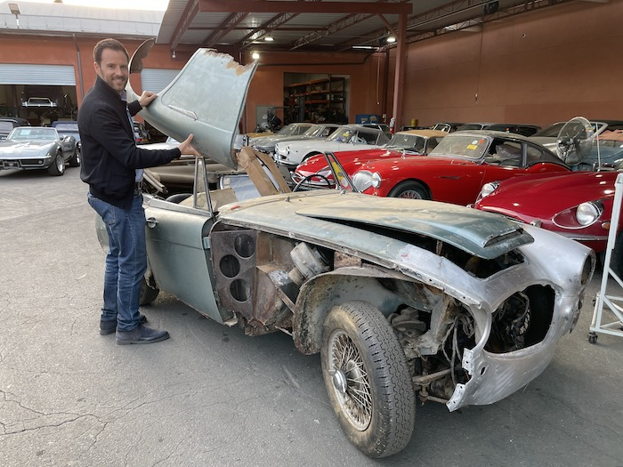 1966 Austin Healey BJ8 3000