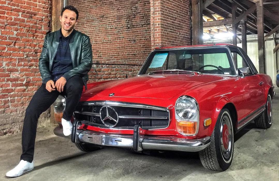 Alex Manos Classic Mercedes sl280 Buyer