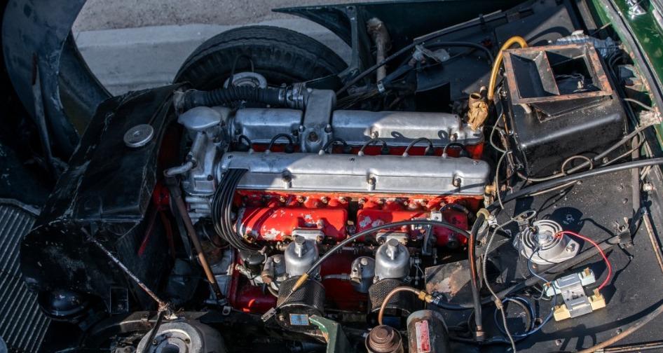 1957 Aston Martin DB2 engine