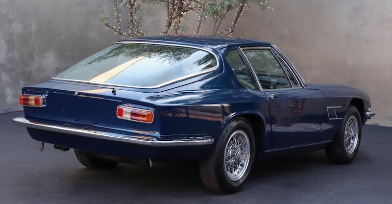 1967 Maserati Mistral 4-Liter rear
