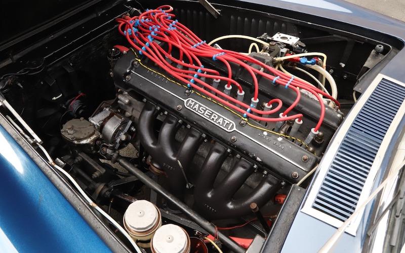 1967 Maserati Mistral engine