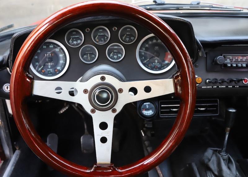 1967 Maserati Mistral interior
