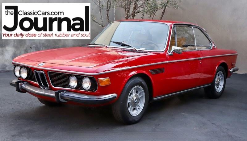 ClassicCars.com Car of the Day 1974 BMW 3.0 CS