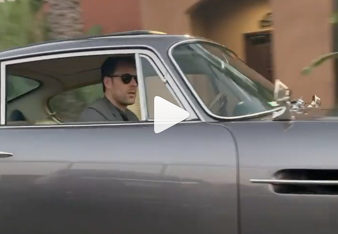 Driving a Classic Aston Martin