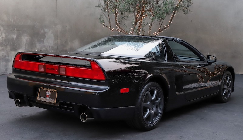 1996 Acura NSX-T 5-Speed rear view