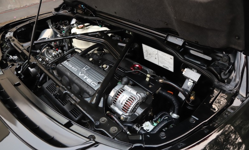 1996 Acura NSX-T engine