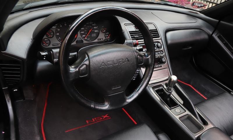 1996 Acura NSX-T interior