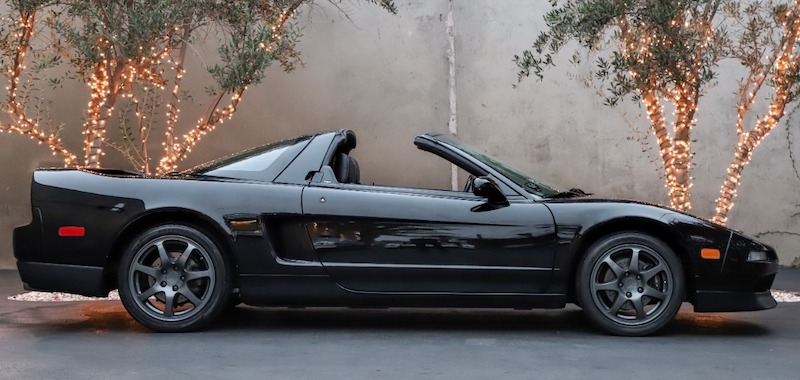 1996 Acura NSX-T side view