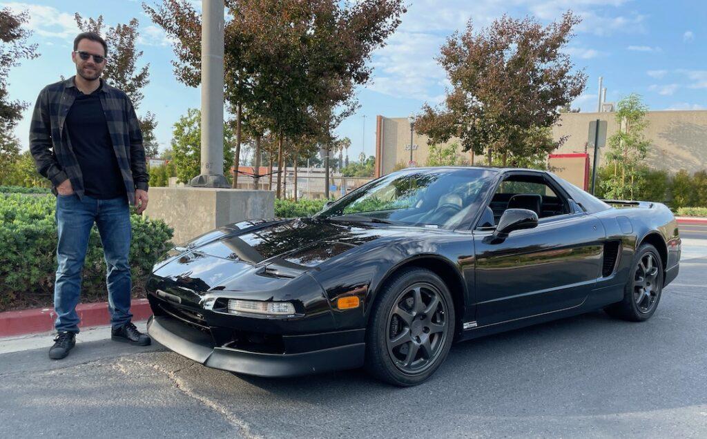 Acura NSX Buyer Alex Manos