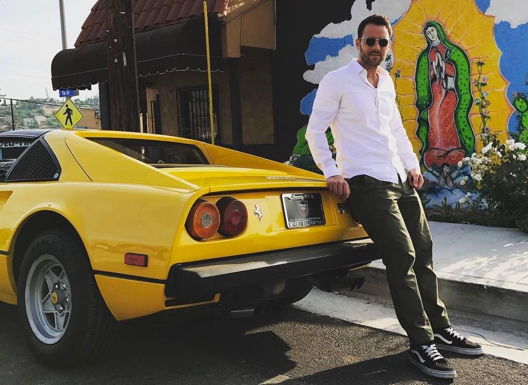 Alex Manos Ferrari 308 buyer